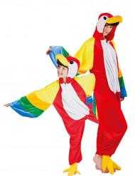 Papagei Paarkostüm Eltern-Kind