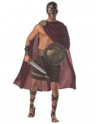 Römer-Legionärs-Kostüm für Herren braun-rot-goldfarben
