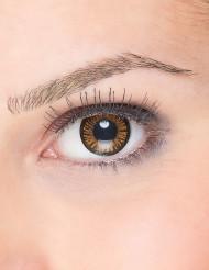Kontaktlinsen schwarz-orange