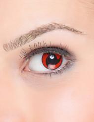 Kontaktlinsen schwarz-rote Spiralschraube