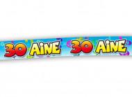Banner für den 30. Geburtstag