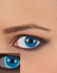 Blaue UV Kontaktlinsen für Erwachsene