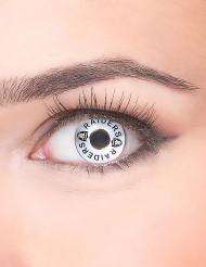 Kontaktlinsen Raiders schwarz-weiß