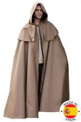 Mittelalterlicher Umhang mit Kapuze für Erwachsene
