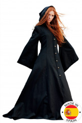 Mittelalterlicher Elfenmantel als Kostüm für Damen