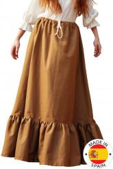 Mittelalterlicher Bauernrock für Damen