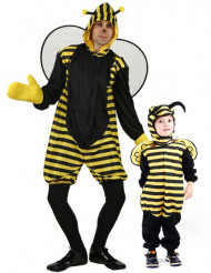 Bienen Paarkostüm Vater-Sohn
