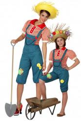 Bauern Kostüm Mutter und Tochter