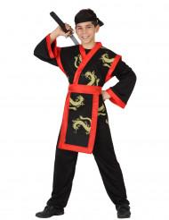 Samuraï Kostüm für Kinder