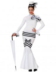 Kostüm für eine Frau der 60er Jahre