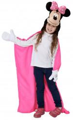 Minnie™ Disney Decke mit Kapuze für Kinder