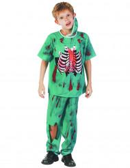 Kinderkostüm Zombie Doktor