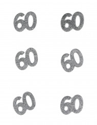 Geburtstags-Konfetti - Zahl 60 10g