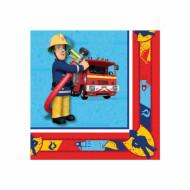 20 Feuerwehrmann Sam™ Papier Servietten