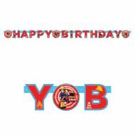 Girlande Happy Birthday - Sam, der Feuerwehrmann™