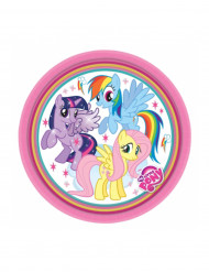 8 kleine Pappteller My Little Pony™