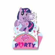8 Einladungskarten mit Umschlägen My little Pony™