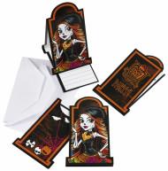 6 Einladungskarten mit Umschlag Monster High™