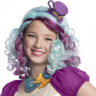Wunderschöne mehrfarbige Perücke für die Frau