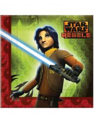 20 Papierservietten Star Wars Rebels™