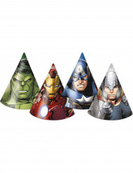 6 Avengers™ Party-Hüte