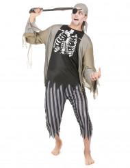 Piraten-Zombie-Kostüm für Herren