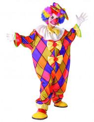 Clown-Overall für Kinder Zirkus bunt