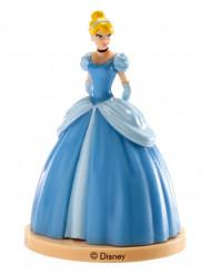Cinderella™-Tortenfigur Kindergeburtstag blau 8 cm