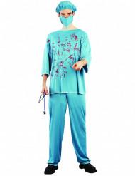 Blutiger Chirurg Erwachsenen Kostüm