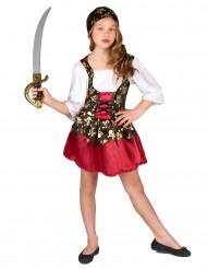 Kostüm für ein Piratenmädchen