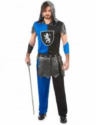 Blauer Ritter Kostüm für Männer