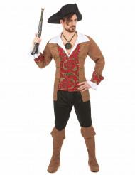 Piratenkostüm für Männer bunt