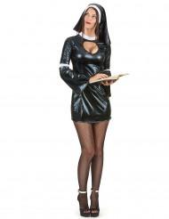 Sexy Nonnen Kostüm für Frauen