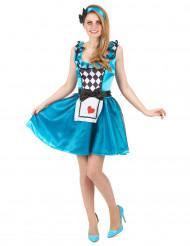 Wunderland Prinzessinnen Kostüm für Frauen