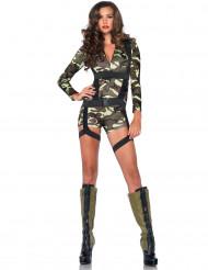 Sexy Militärkostüm für die selbstbewusste Frau