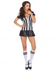 Verkleidung Sexy Schiedsrichterin für Frauen