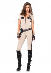 Sexy Polizei-Frauen Kostüm