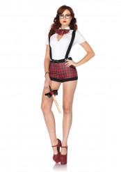 Sexy Schulmädchen-Uniform