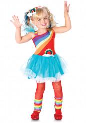 Regenbogenkostüm für Mädchen