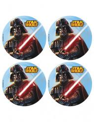 12 Mini Tortenaufleger Star Wars ™