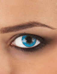 Kontaktlinsen hellblau