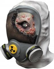 Maske Zombie Giftgas für Erwachsene - Hand bemalt