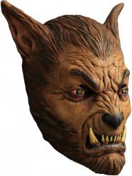 Werwolf Maske braun