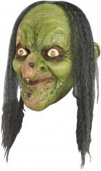 Grüne Hexenmaske