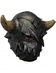 Wikinger Krieger Maske mit Hörnern