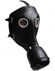 Schwarze Gasmaske
