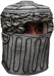 Maske Mülltonne
