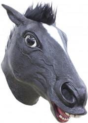 Schwarzes Pferd Maske