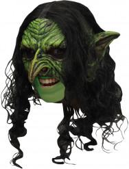 Grüner Kobold 3/4 Maske - Halloween