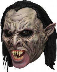 Vampir 3/4 Maske mit Gebiss für Erwachsene
